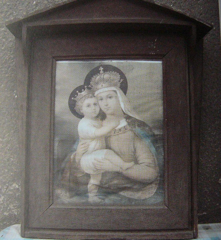 obraz Madony s Ježíškem